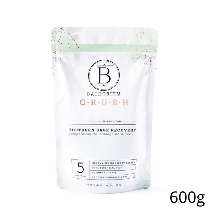 Bathorium CRUSH Northern Sage Recovery Soak 600g (5 Baths)