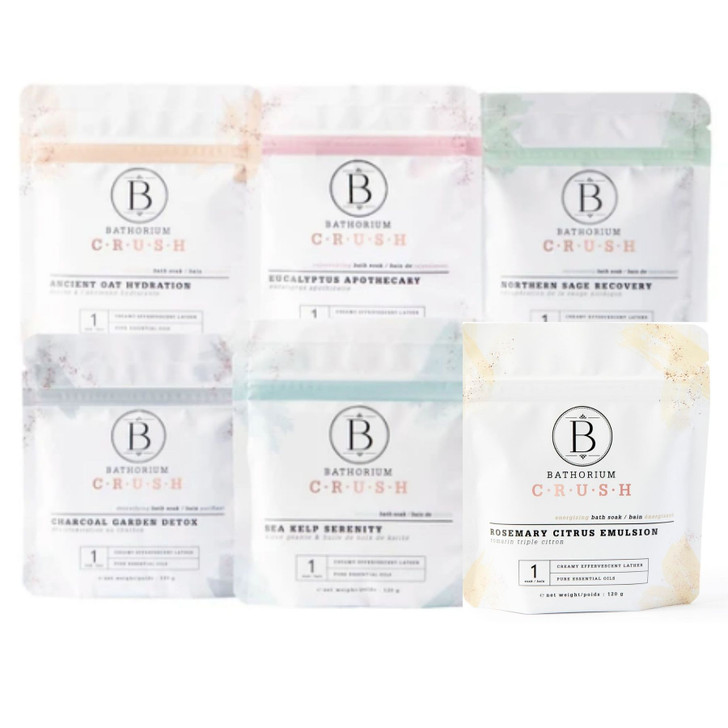 Bathorium The CRUSH Gift Set 6-Pack