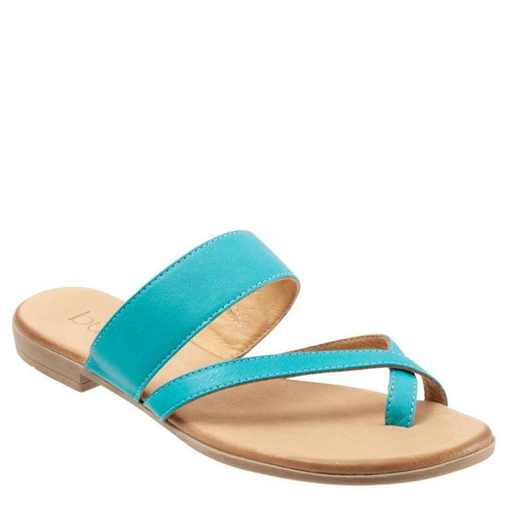 Bueno Jackson Sandal Turquoise Leather