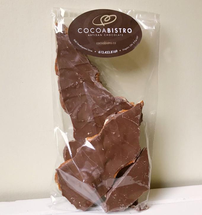 Cocoa Bistro- Milk Chocolate Pretzel & Almond Bark