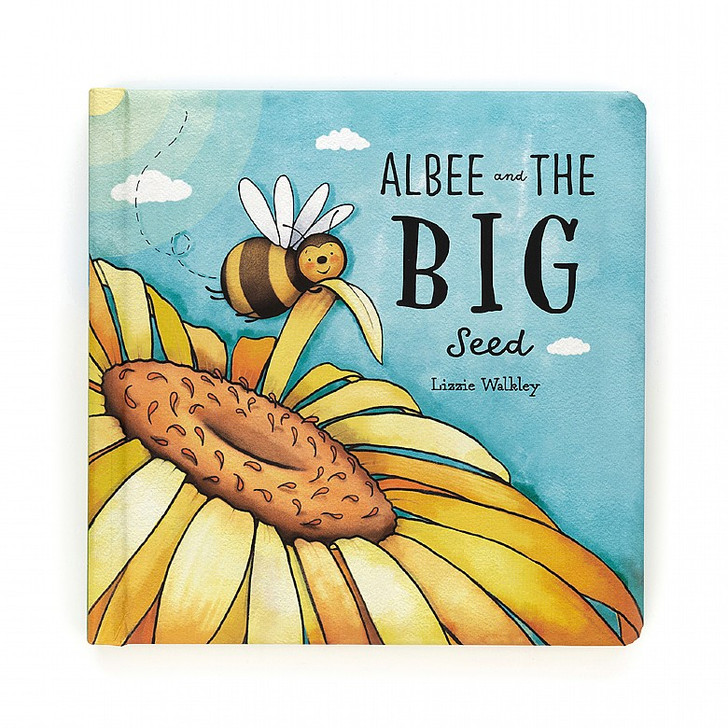 Jelly Cat Albee and The Big Seed Book