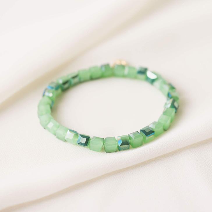 Lover's Tempo Dawn Stretch Bracelet Meadow Green