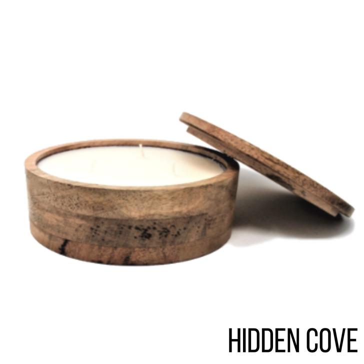 Himalayan Mountain Barrel 17oz Candle Hidden Cove