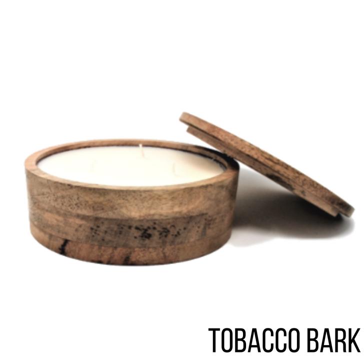 Himalayan Mountain Barrel 17oz Candle Tobacco Bark