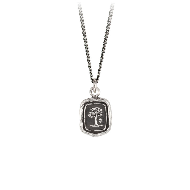 """Pyrrha- Potential For Greatness Talisman Necklace 18"""""""