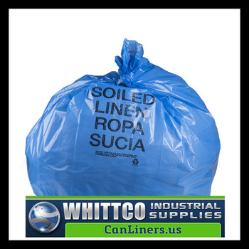 BR3043XHVB BLUE LLDPE Healthcare Trash Bags Inteplast Bags