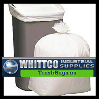 33 gallon White Trash Bags  ( 150 count )  L33397WR