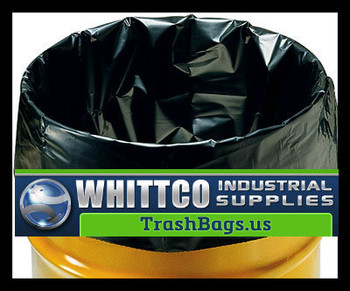 Contractor bags 42 gallon Black 3.0 mil L34463K  (60 bags)