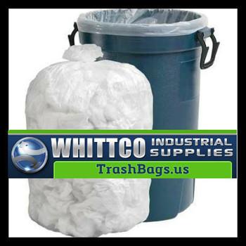 PC58100N 60 gallon Trash Bags 38x58 0.9 Mil NATURAL