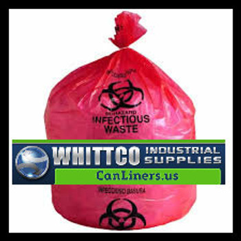 S242411RH HDPE Healthcare Trash Bags Inteplast Bags