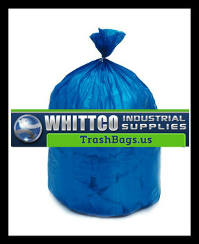 BRS304314BL BLUE HDPE Healthcare Trash Bags Inteplast Bags
