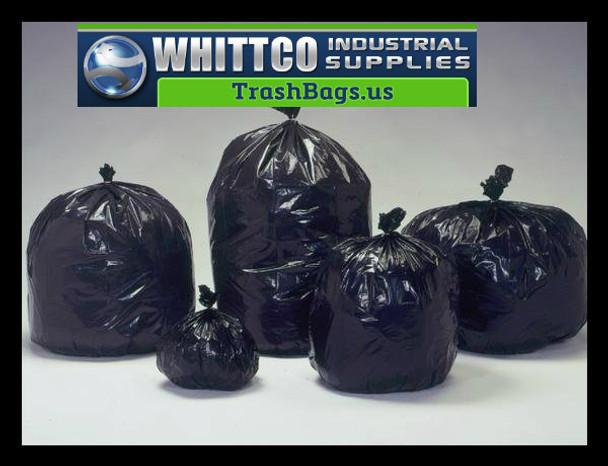 30 gal/150  .9 mil L30369K 20-30 Gallon Trash Bags Black