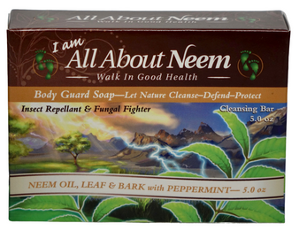 Neem Bark Soap with Hemp, Original Body Guard