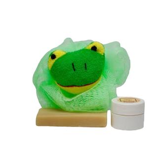 "Neem Oil ""Heaven Scent"" Soap & Baby's Bottom Neem Cream ""Green Frog"" Set - All Natural!"