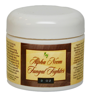 "Neem Oil ""Alpha Fungal Fighter"" with Black Cumin Oil, Hemp and Fungal Fighter Essential Oils"
