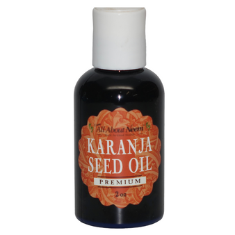 Karanja Seed Oil Cold Pressed Organic Wild Harvested - 2 oz