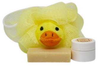 "Neem Oil ""Heaven Scent"" Soap & Baby's Bottom Neem Cream ""Yellow Duck"" Set - Protects Sensitive Skin!"