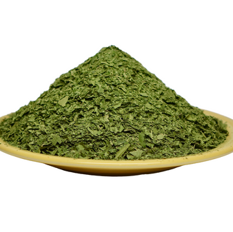 Neem Leaves Organic TEA CUT  4 LBS Bulk Bag  - COURSE GROUND - GREEN GOLD