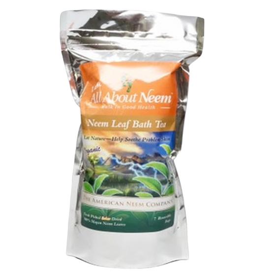 Neem Tub Tea Bags (7 Reusable Bags) & FREE Travel Size Neem Oil soap