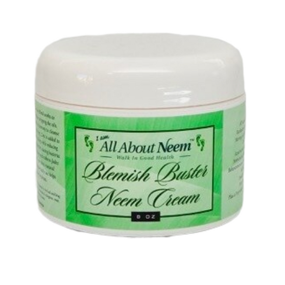"""Neem Oil """"Blemish Buster"""" Cream with Hemp, Zinc and Acne Blend Essential Oils"""