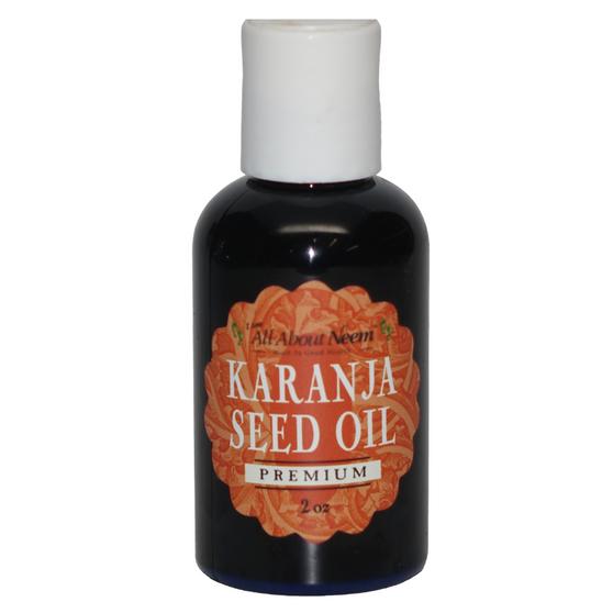 Karanja Seed Oil Cold Pressed Organic Wild Harvested - 2 oz