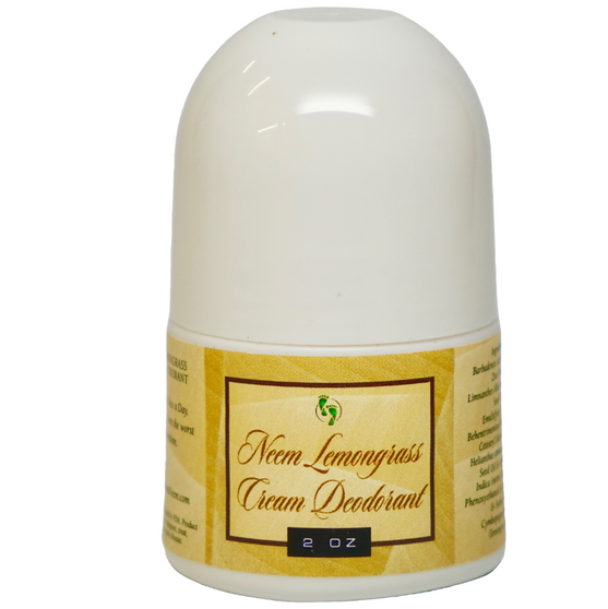 "Neem ""Once A Day"" Lemongrass Deodorant"