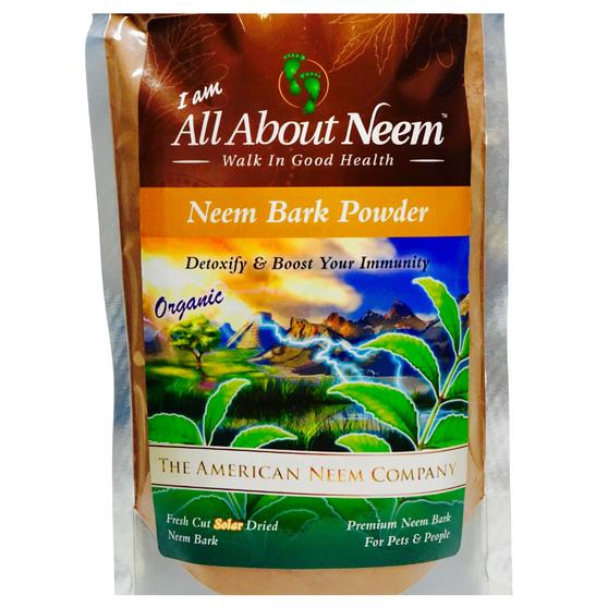 Neem Bark POWDERED Organic 4 lb Bulk
