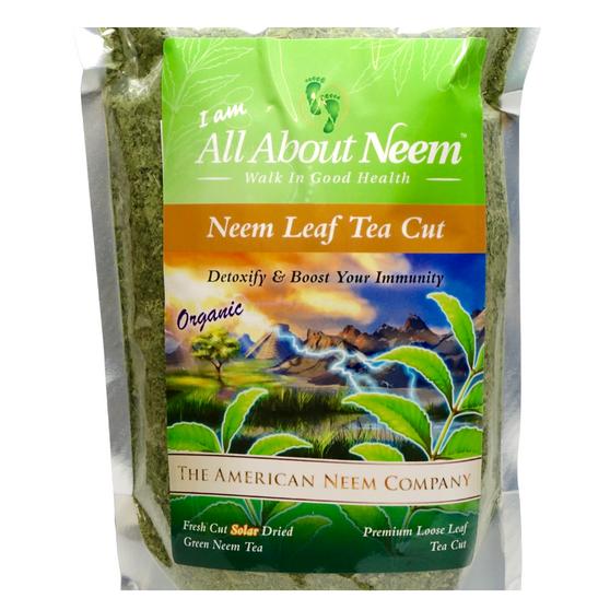 Neem Leaves Organic TEA CUT 16 OZ Course Ground  Premium Tea