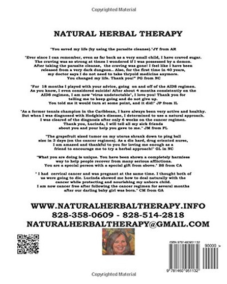 Natural Herbal Therapy- About the Author and About the Book