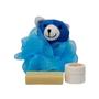 "Neem Oil ""Heaven Scent"" Soap & Baby's Bottom Neem Cream ""Blue Bear"" Set - Make Bath Time Fun!"
