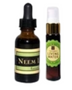 Neem Leaf Liquid Extract 1 OZ or 2 OZ Hand Sanitizer  - Wild Harvested With Plant Based Ethanol  - America's Best Defense From Flu!