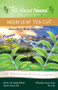 Neem Leaves Organic TEA CUT  4 LBS Bulk Bag  - COURSE GROUND - GREEN GOLD
