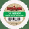 Cape Verde Decaf Medium Roast Coffee by Hurricane