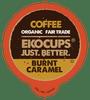 Burnt Caramel Flavored Coffee by Ekocups