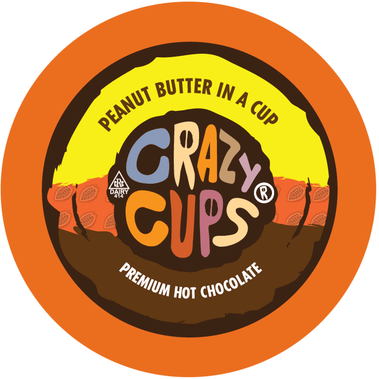 Crazy Cups Peanut Butter in a Cup Hot Chocolate by Crazy Cups