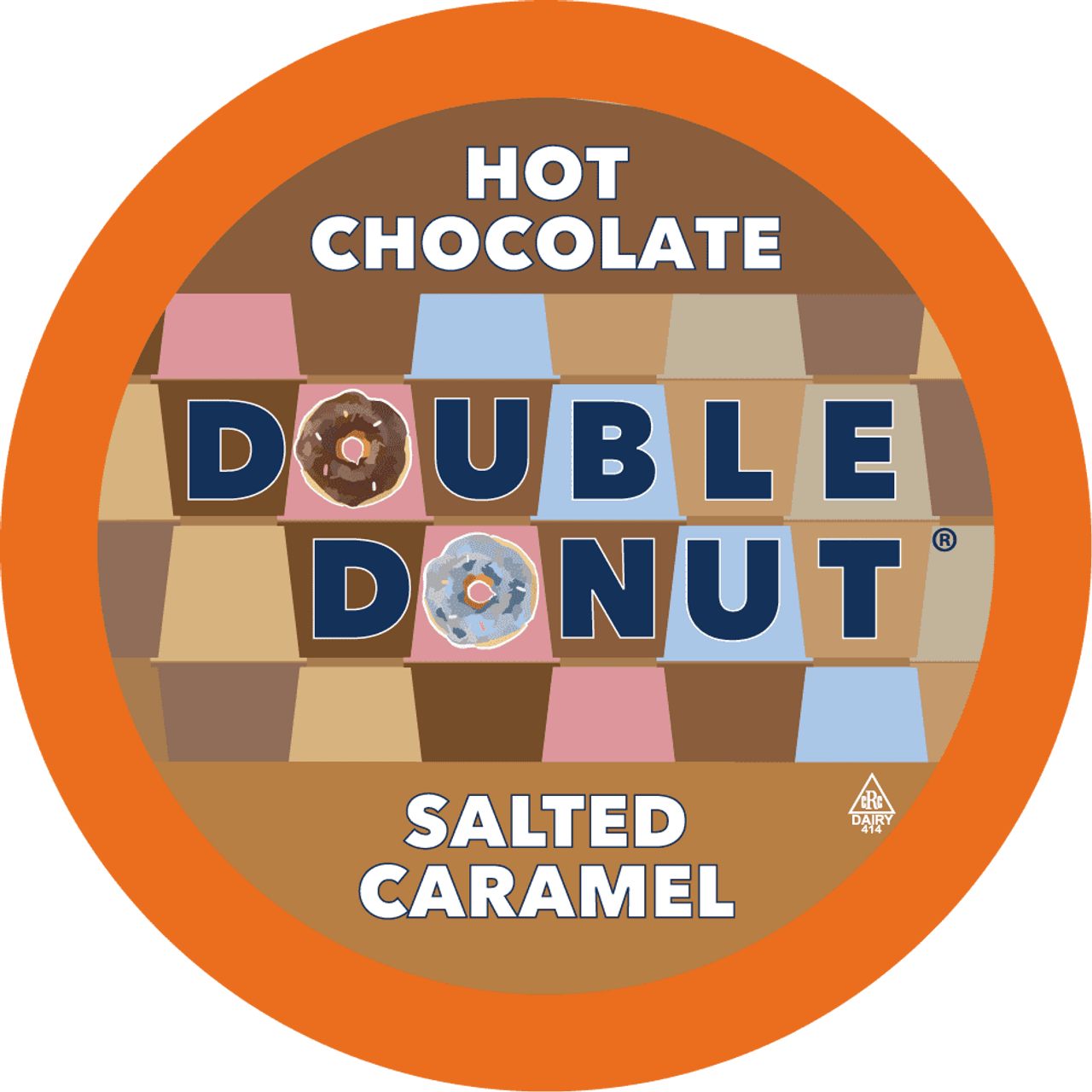 Salted Caramel Hot Chocolate by Double Donut