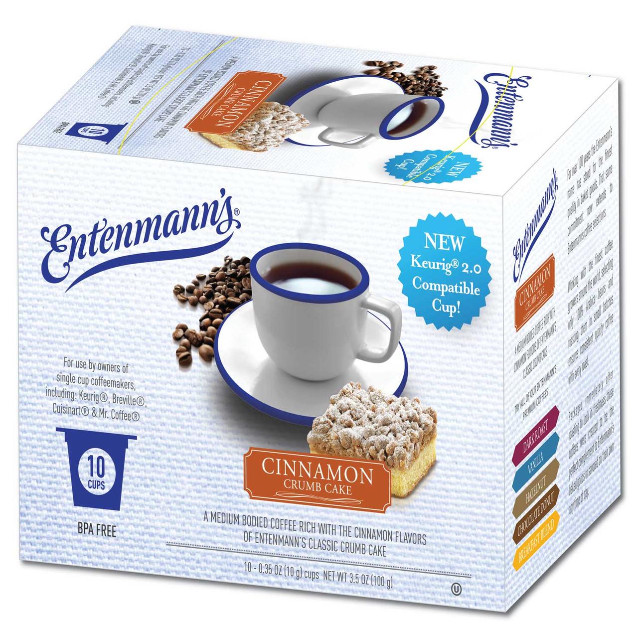 Cinnamon Crumb Cake Flavored Coffee by Entenmann's