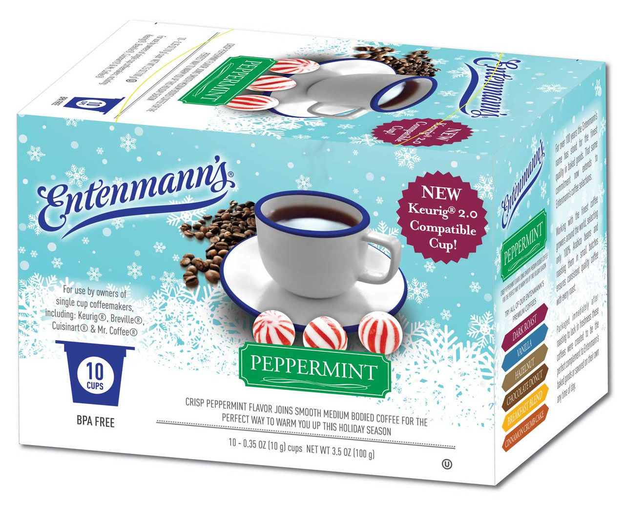 Peppermint Flavored Coffee by Entenmann's