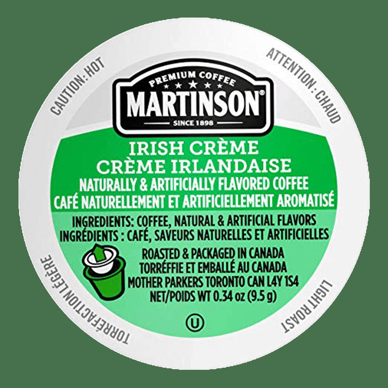 Irish Cream Flavored Coffee by Martinson