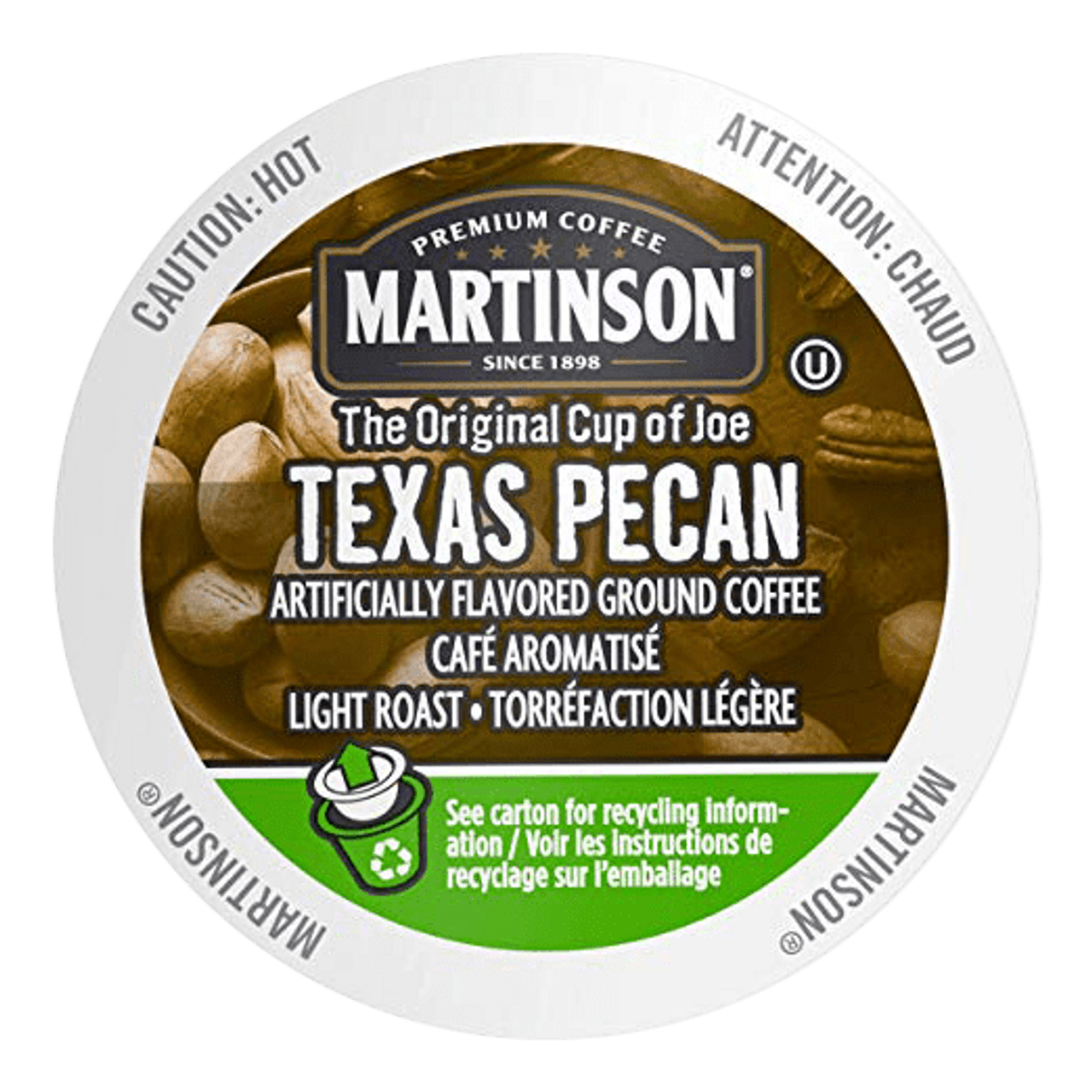 Texas Pecan Flavored Coffee by Martinson