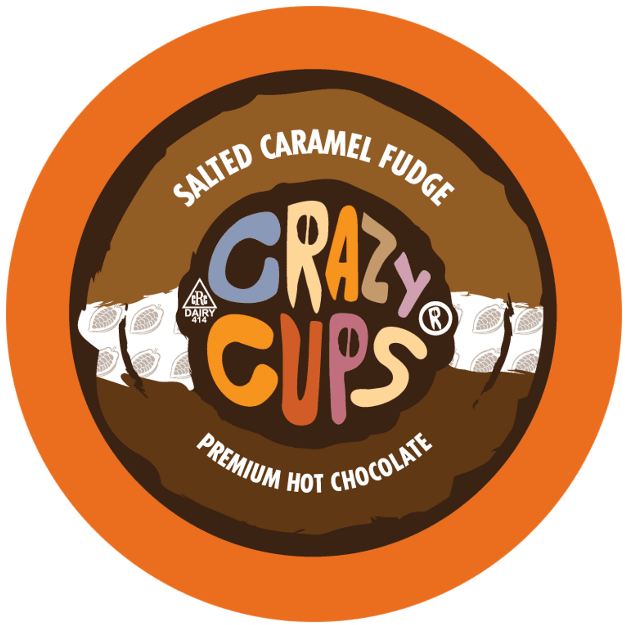 Salted Caramel Fudge Hot Chocolate by Crazy Cups