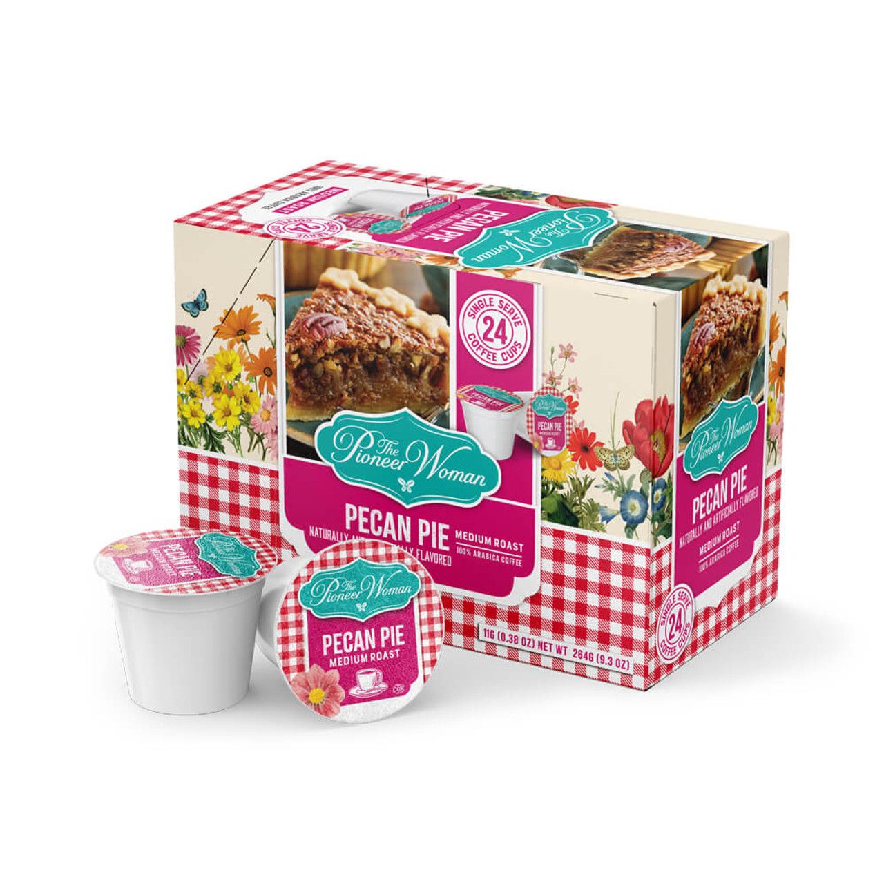 The Pioneer Woman Flavored Coffee Pods Pecan Pie