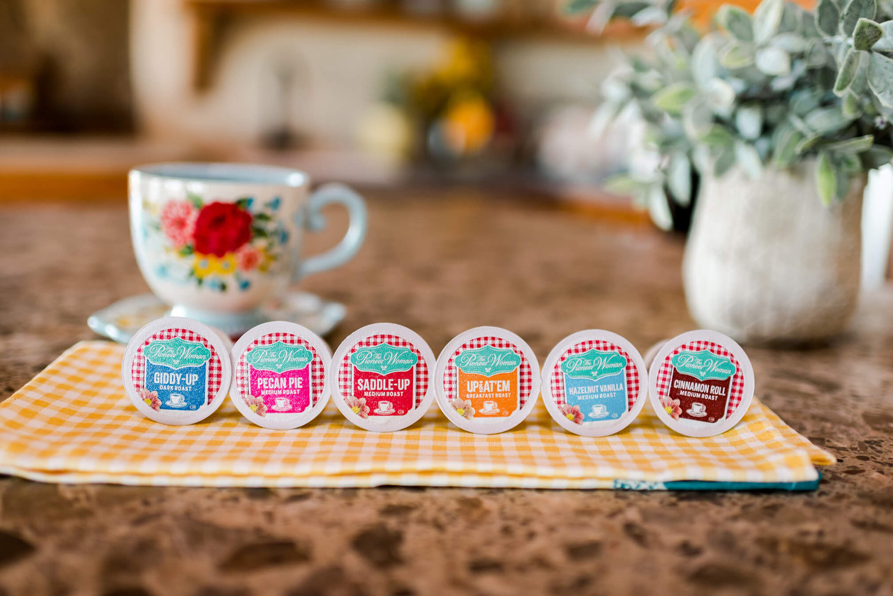 The Pioneer Woman Flavored Coffee Pods Up & At 'Em