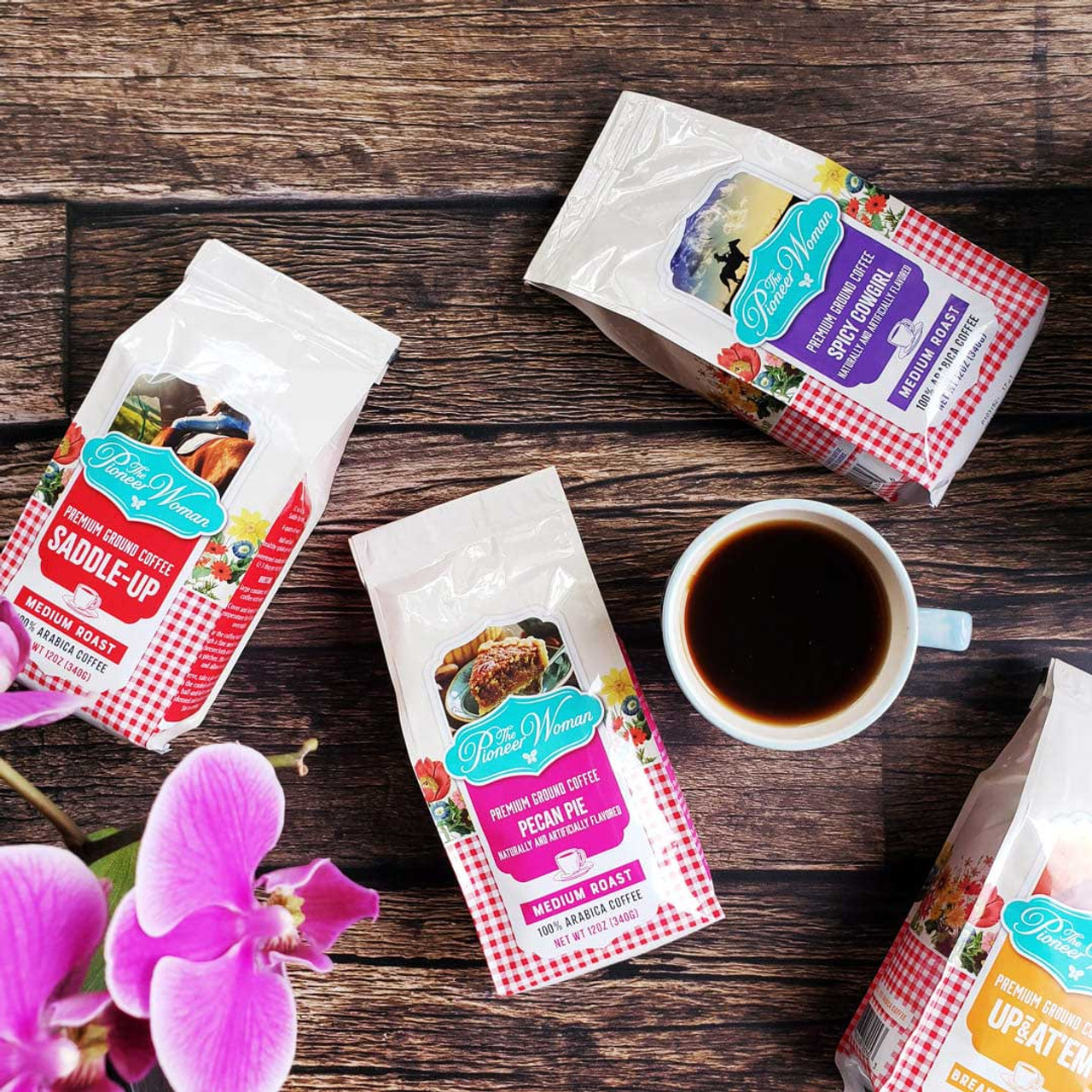 Spicy Cowgirl Flavored Ground Coffee By The Pioneer Woman