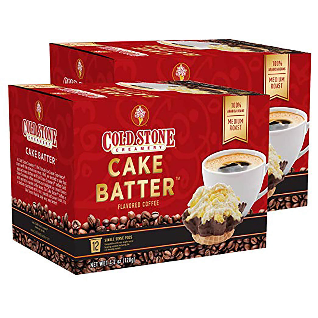 Cake Batter Flavored Coffee by Cold Stone Creamery
