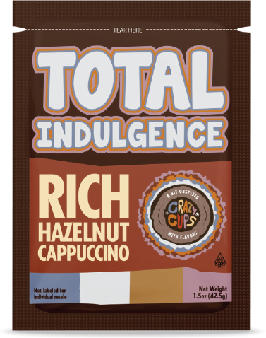 Rich Hazelnut Cappuccino