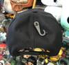 Cleveland Indians 47Brand Black MVP DT Logo Snapback Hat