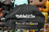 Houston Rockets 1995 Finals Flat Brim Mitchell & Ness Black Snapback Hat