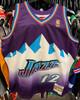 Utah Jazz John Stockton 12 Purple Mitchell & Ness NBA Swingman Jersey