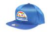 Denver Nuggets Logo Mitchell & Ness NBA Blue Mesh Snapback Hat